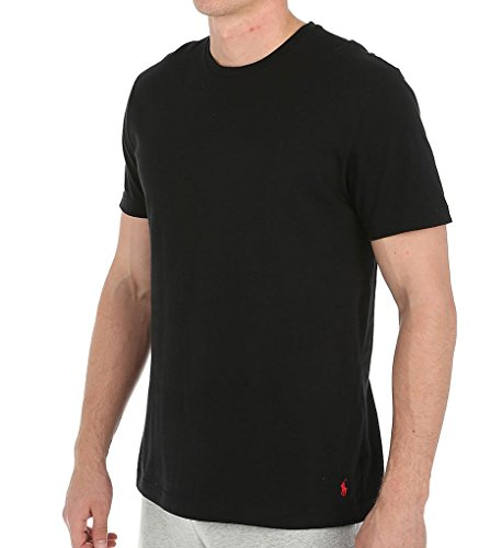 Polo Ralph Lauren Relaxed Fit Jersey Short Sleeve Crew Polo Black/Red Polo Player XL