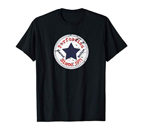 Vintage 1971 Divertido Regalo 50 cumpleaños Hombre Mujer Camiseta