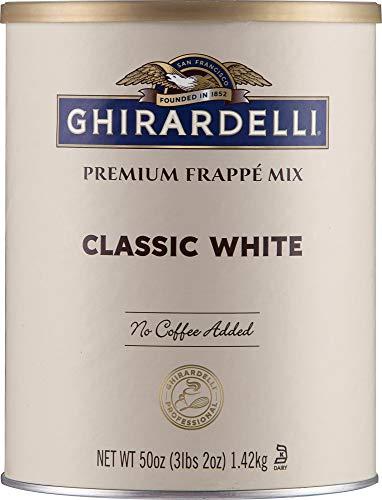 Ghirardelli Beverage Mix, Classic White Frappe Mix