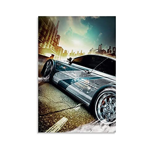 EWYU Need for Speed Most Wanted - Póster de pared (30 x 45 cm)