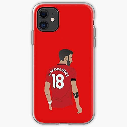 Portugal Manchester Bruno United MUFC Fernandes Custodie per Telefoni iPhone 12/11 Pro Max 12 mini SE X/XS Max XR 8 7 6 6s Plus Custodie Cover