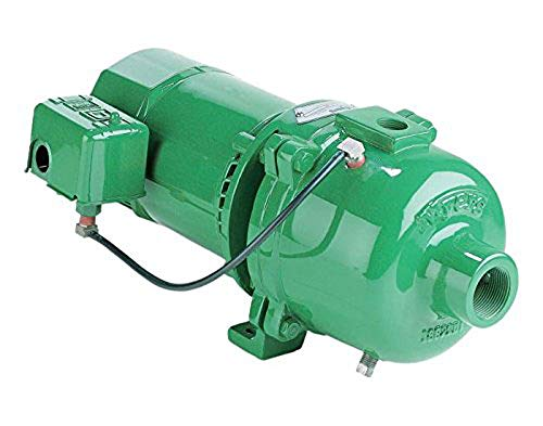 Myers HJ100S Shallow Well Jet Pump 1 HP - Body Construction: Cast Iron
