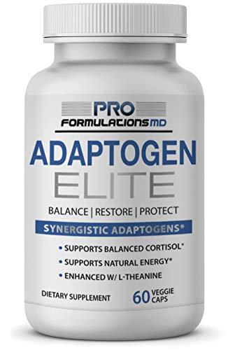 Adaptogen Elite – Synergistic Adaptogen Blend – 60 vcaps –...