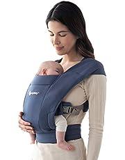 Ergobaby Babydraagtas voor pasgeborenen vanaf de geboorte, extra zacht, Embrace buikdrager, ergonomisch