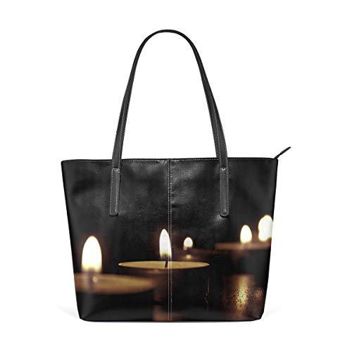 MALPLENA Romantische Nachtkerzen Designer-Handtaschen für Frauen Weiche Arbeitstasche