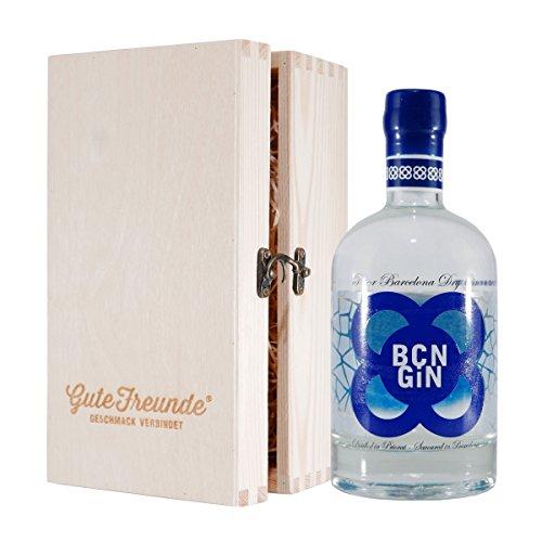 BCN Gin Prior Barcelona Dry mit Geschenk-Holzkiste