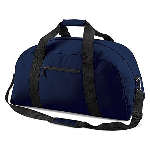 Bag Base - sac de sport/voyage 48 L - BG22 - CLASSIC HOLDALL - coloris bleu marine