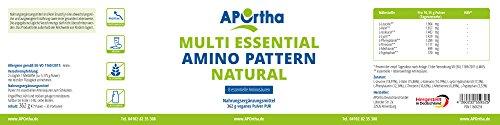 Multi essential Amino Pattern – 8 essentielle Aminosäuren – 500 g veganes Pulver - 2