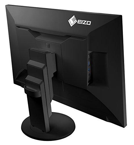 EIZO EV2456-BK Noir LCD-Monitor 61.2cm (24.1 Zoll) EEK A++ (A++ - E) 1920 x 1200 Pixel WUXGA 5 ms DV