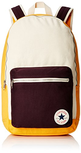Converse Mochila Core Plus Canvas Backpack, Color Solar Orange Natural, tamaño 26 x 45.5 x 12.5 cm, 15 Liter, Volumen Liters 15.0