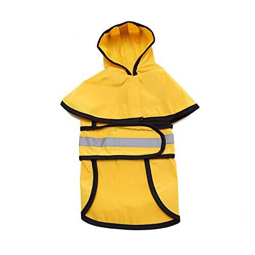 Y-pet pullover hond dog raincoat grote hond gouden haar huisdier regenjas reflecterende hondenkleding poncho kleding voor honden
