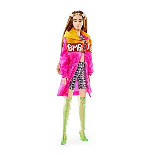 Barbie GNC47 - Barbie BMR1959 Barbie (brünett) Streetwear Parka, Spielzeug ab 6 Jahren