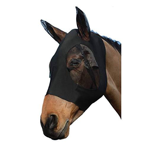 SISIEU Máscara antiUV para Caballos con Orejas Máscara de