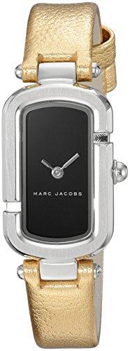 Marc Jacobs Women's Monogram Calfskin Band Steel Case Quartz Watch MJ1500