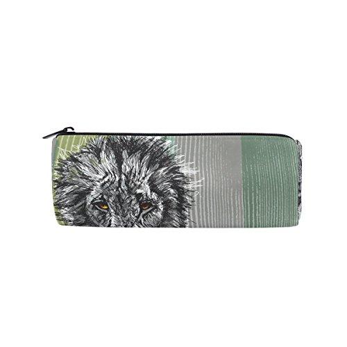 Der Löwe von Juda Federmäppchen Stift Tasche Multifunktionale Stationery Tasche Reißverschluss Tasche von bennigiry, Student Reißverschluss Bleistift Inhaber Tasche Geschenk Travel Make-up Tasche