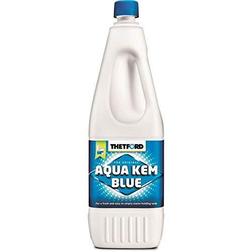 Thetford Aqua KEM Blue 2 litros líquido para aguas negras autocaravanas 2 l WC químico