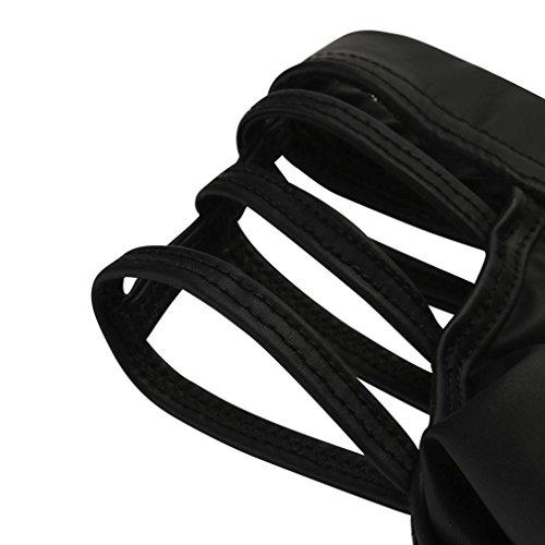 Pumsun Sexy Panty Thong Men's G-String Sexy T-Back Underwear Pouch Briefs Pants (XXXL, Black)