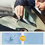 2020 New ELITE Glass Nano Repair Fluid Kit for Cracked Car Windshield,Cell Phones, Repair Kit Resin, Windshield Glass Repair Set Shatter Repair Fix Auto Glass Windshield Crack Chip Scratch(2 Pack)