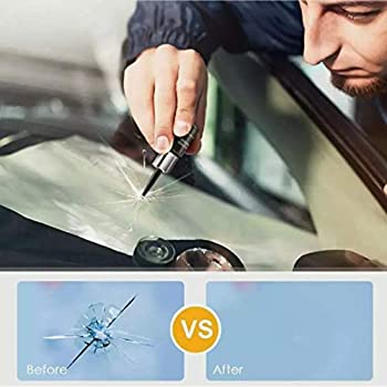 2020 New ELITE Glass Nano Repair Fluid Kit for Cracked Car Windshield,Cell Phones Repair Kit Resin Windshield Glass Repair Set Shatter Repair Fix Auto Glass Windshield Crack Chip Scratch 2 Pack