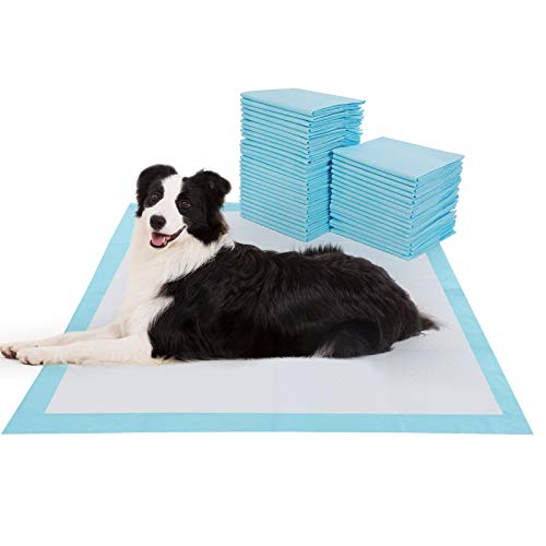 "BESTLE Extra Large Pet Training and Puppy Pads Pee Pads for Dogs 28""x34"" -40 Count Super Absorbent & Leak-Free"