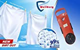 Wellberg Portable Plastic Mini Handy Bucket Size Washing Machine