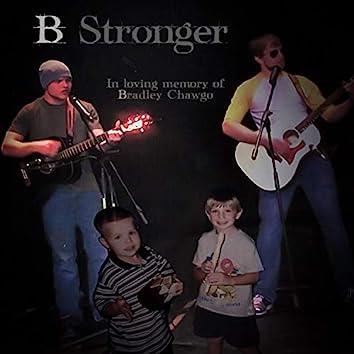 B. Stronger