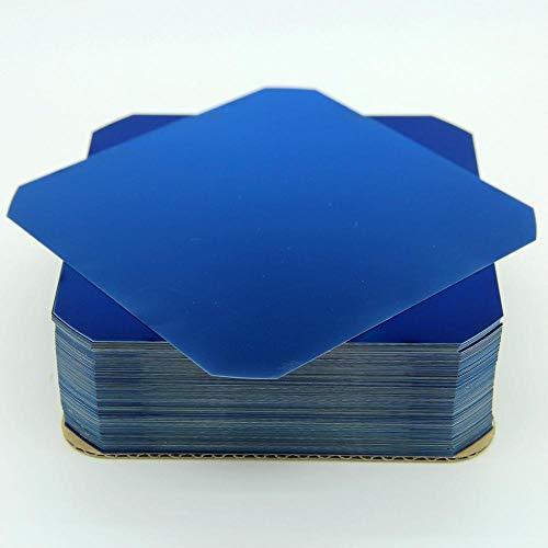 Sunpower Flexible Solar Cells E60 C60 5x5 3.6W Monocrystalline Cells for DIY Panels (10, 2 Busbars Per Cell)