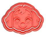 Desconocido Molde Cortador de Galletas - Dibujos Animados Patrulla Canina – Skye (Coral)