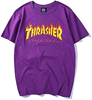 Thrasher Round Neck T-Shirt For Women