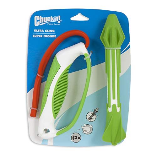 ChuckIt! Ultra Sling Launcher System with Ultra Dart Dog Toy (Colors Vary)