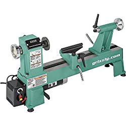 "Grizzly T25920 12"" x 18"" Variable-Speed Wood Lathe"