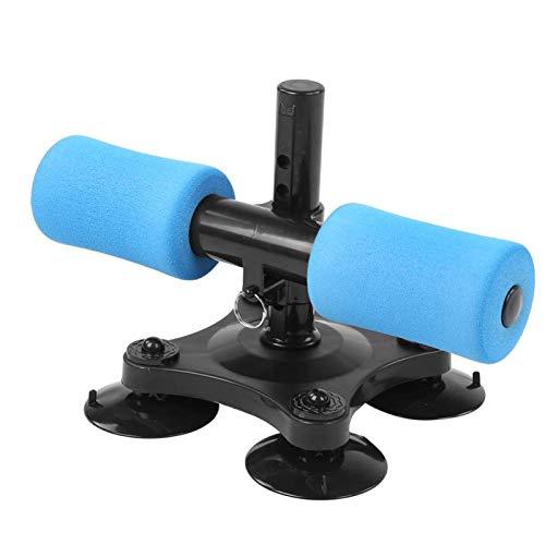 DAUERHAFT Barra de Ejercicios de Abdominales Equipo de Fitness de Alta dureza De Alta Resistencia De Alta Densidad, para Gimnasio(Blue)