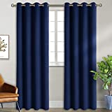 BGment Blackout Curtains for Bedroom - Grommet Thermal Insulated Room Darkening Curtains