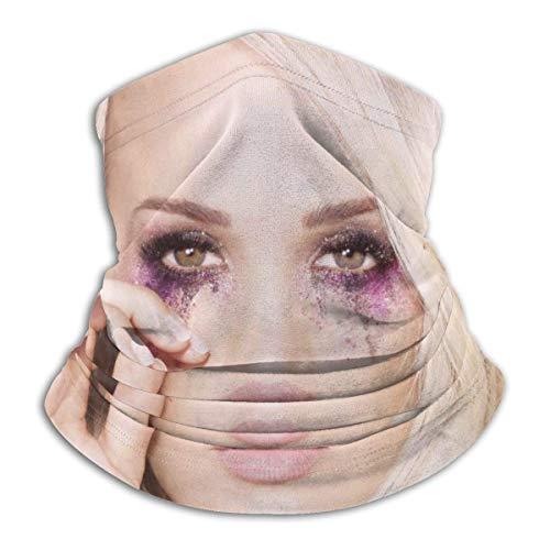 YUIT Carrie Underwood Cry jolie couverture de visage écharpe cou guêtre multifonctionnel bandeau cyclisme cagoule