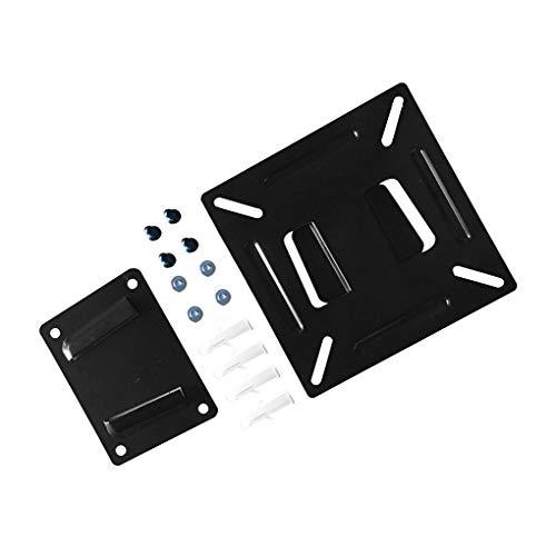 Yihaifu 12-24 Pulgadas de Montaje en Pared para TV Inicio TV Soporte de Pared LED Equipo de Oficina Ordenador Pantalla LCD Sn Acero de Pared Soporte