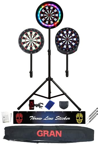 GRAN Darts Universal Portable Lightweight Tripod...