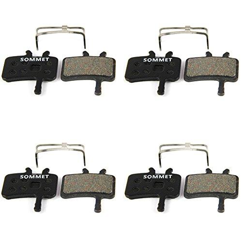 4 Pares SOMMET Pastillas Freno Disco Semi-metálico para SRAM-AVID bb7