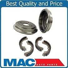 Mac Auto Parts 124609 (2) Brake Drum Drums & Rear Brake Shoes 3521 B671 Fits 1993-1998 Altima 2.4L
