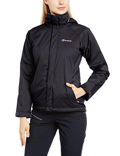 Berghaus Damen Regenjacke Calisto Alpha 3 in 1 Jacke, Schwarz Gr. 40 EU (Herstellergrosse : M)