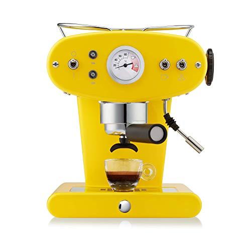 Francis Francis by illy F000878 X1 Ground Coffee Machine, Yellow