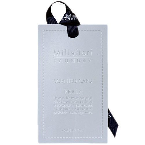 Millefiori Laundry Duftkarten, Kautschuk, Rosa, 10 cm