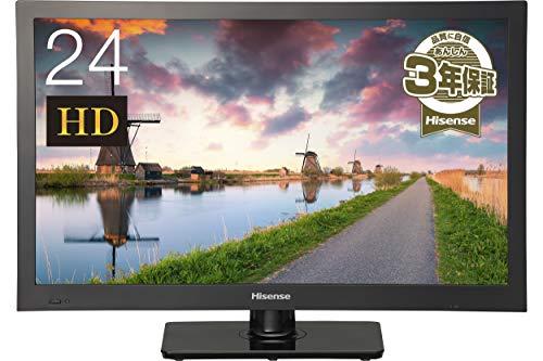 『ハイセンス 24V型 液晶 テレビ HJ24K3121 ハイビジョン 外付けHDD裏番組録画対応 メーカー3年保証 2017年モデル』の1枚目の画像