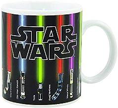 Star Wars Mug Lightsabers Heat - Change Mug The Force Awakens with Heat - (12 oz)