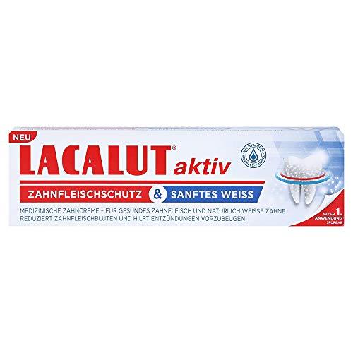 Lacalut aktiv Zahnfleischschutz & sanftes weiss 75ml