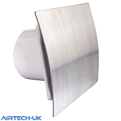 Bathroom Extractor Fan 100mm / 4' with Timer Humidity Sensor Humidistat ES-100H