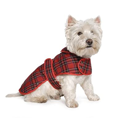Ancol Highland Tartan Dog Coat size Medium