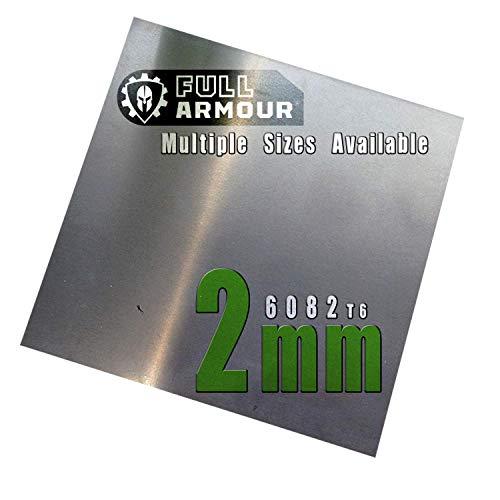 Piastra in alluminio - 2mm 200cm x200cm (20cm x 20cm)