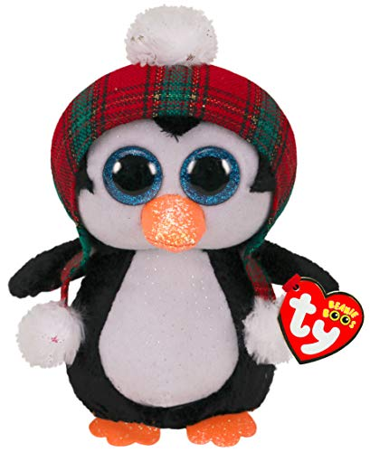 TY UK Ltd Xmas Cheer Penguin Christmas 2020-Boo-Reg, Multicolor (36241)