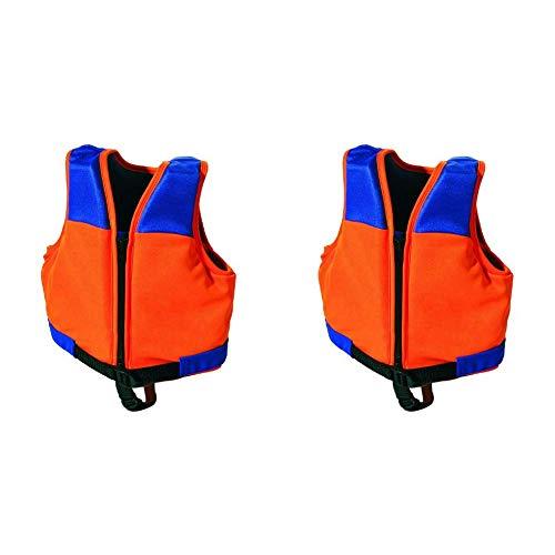 SIMA by Fashy Kinder Schwimmweste, orange-blau, M & by Fashy Kinder Schwimmweste, orange-blau, S