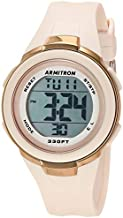 Armitron Sport Women's Digital Blush Pink Resin Strap Watch, 45/7126PBH